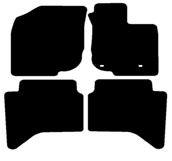 Buy new Toyota Hi-Lux 2011-Present (Double Cab) Car Mats online.