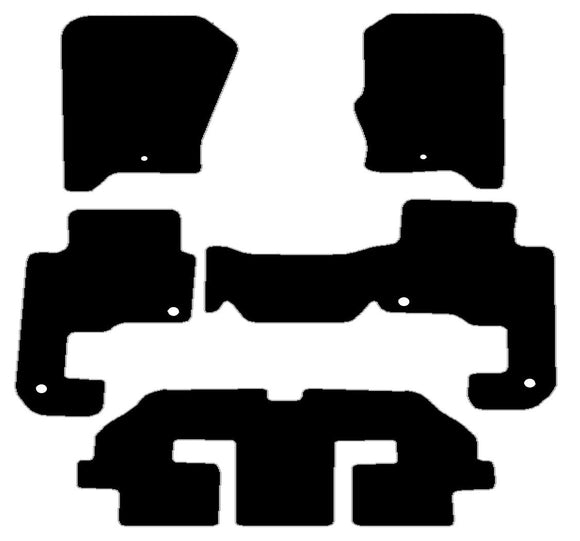 Buy new Landrover Discovery 3 2004-9 Fixing Rings Frnt And Clips Rear 7 Seats Car Mats online.