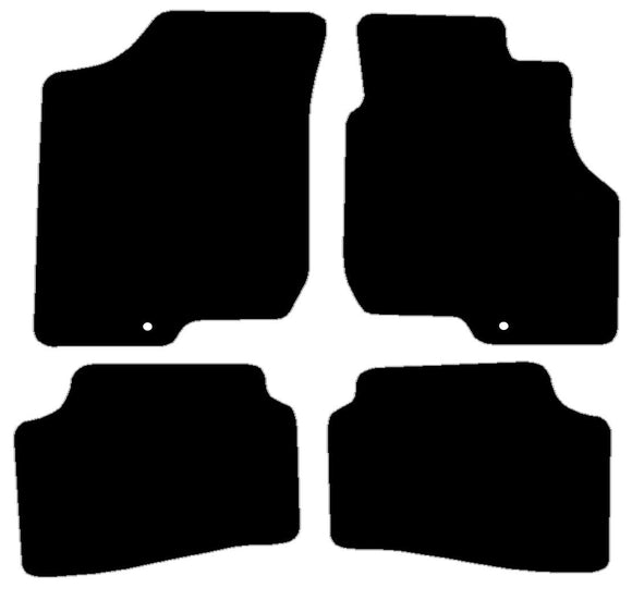 Buy new Hyundai I30 & Kia Ceed 2007-12Single Hook Fix Driver & Pass Car Mats online.