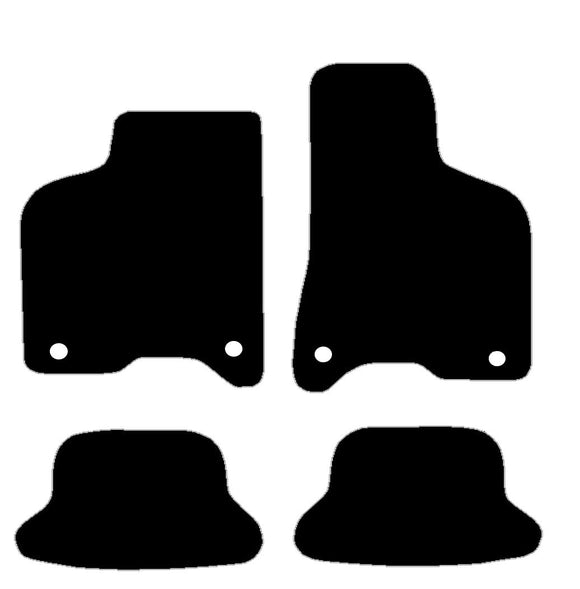 Buy new Vw Lupo 1999-2005 With 4 Clips 36Cm Spacing Car Mats online.