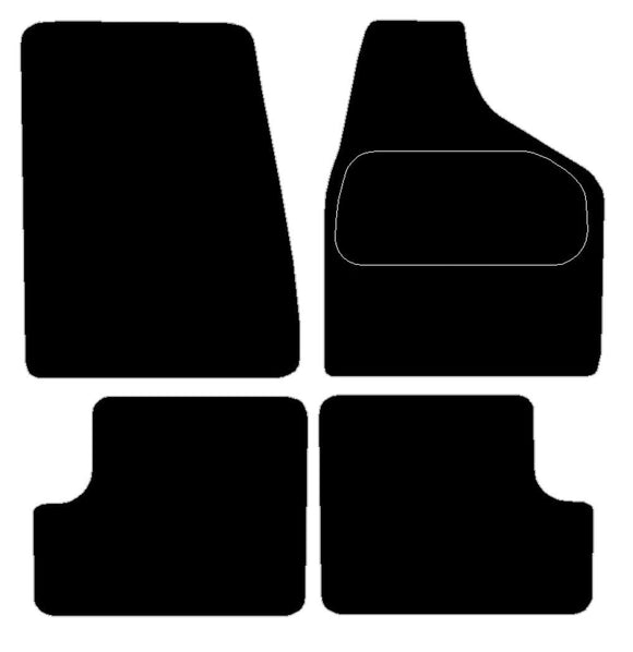 Buy new Jaguar Mk2 Car Mats online.