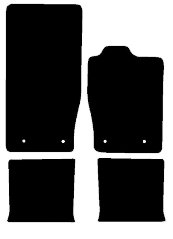 Buy new Jaguar Xk (X150) 2006-Present 4 Piece Set Car Mats online.