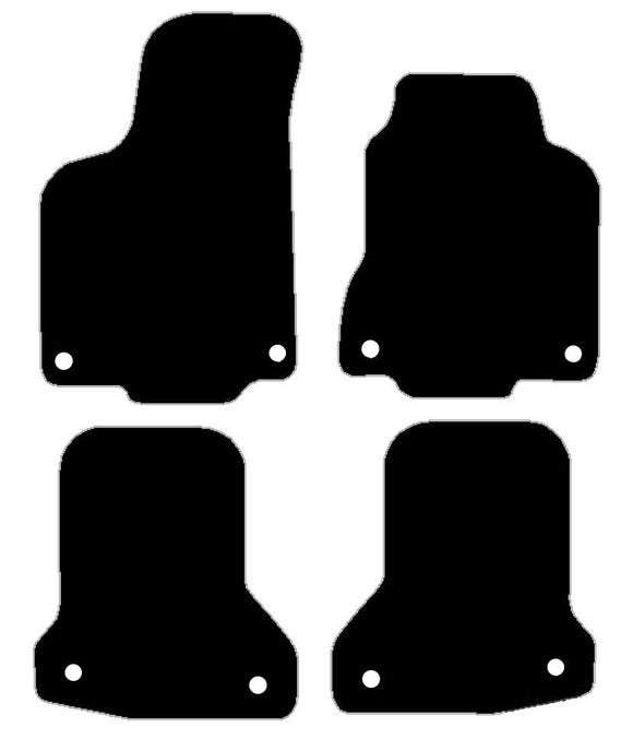 Buy new Vw Polo 1994-1999 Fixings In All Four Mats Car Mats online.