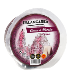 Wine Cured Goat cheese wheel 2.2kg