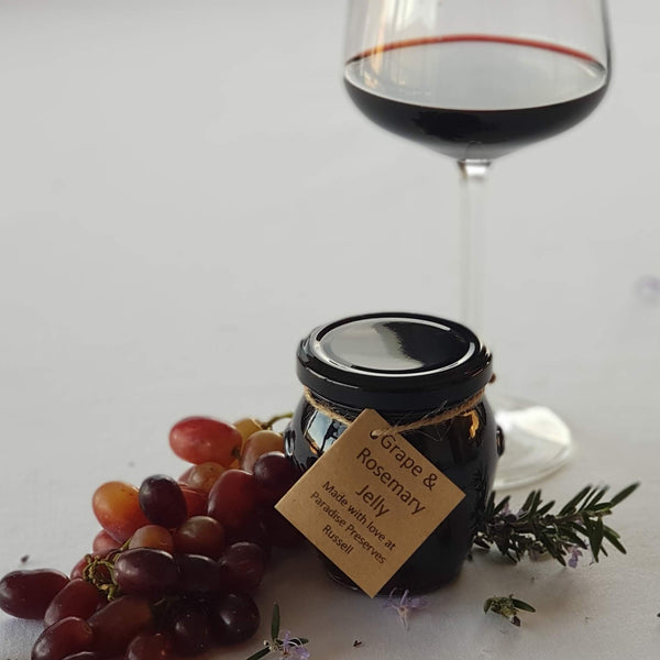Grape and Rosemary Jelly 230g