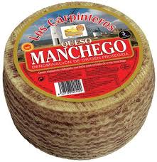 Manchego cheese 6 months cured wheel 3.2 kg