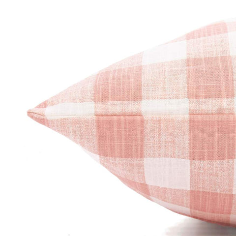 Gingham Check Dog Bed
