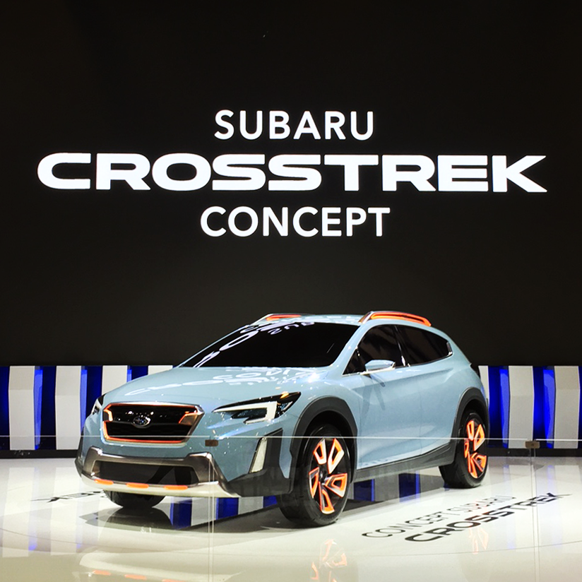 Subaru Crosstrek Concept Makes North American Debut at 2017 Montreal International Auto Show