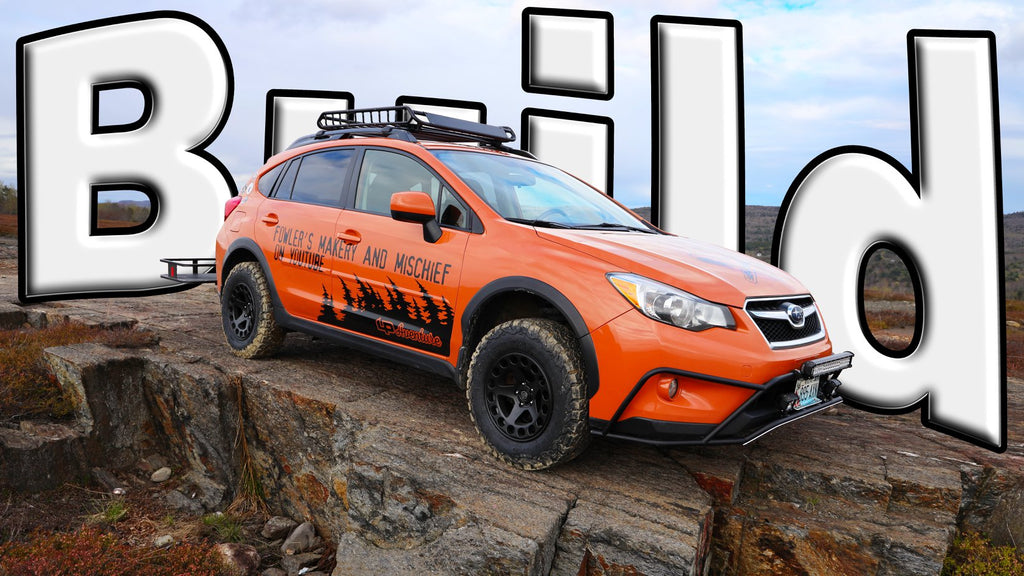 Makery and Mischief Adventure Mobile - Subaru XV Crosstrek