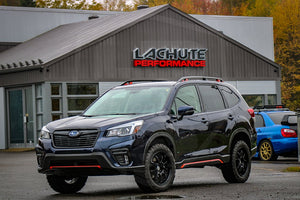 LP Aventure lift kit for the new 2019 Subaru Forester.