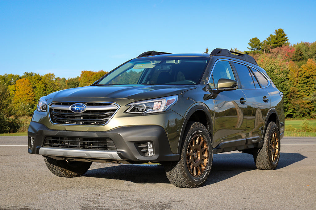 The first LP Aventure lifted 2020 Subaru Outback.