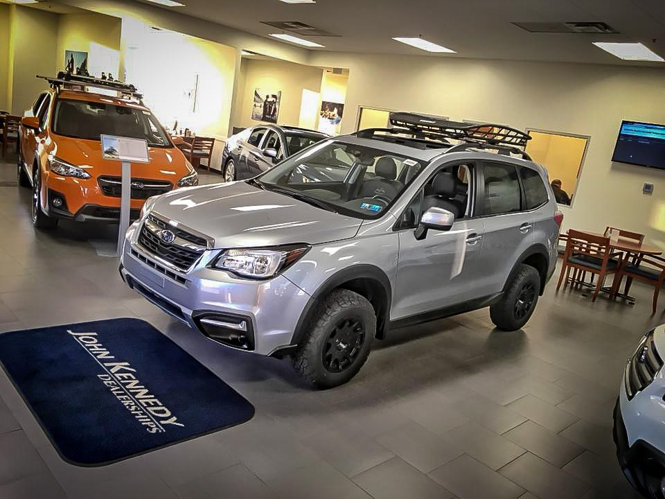 John Kennedy Subaru - 2018 Forester Black Mountain edition