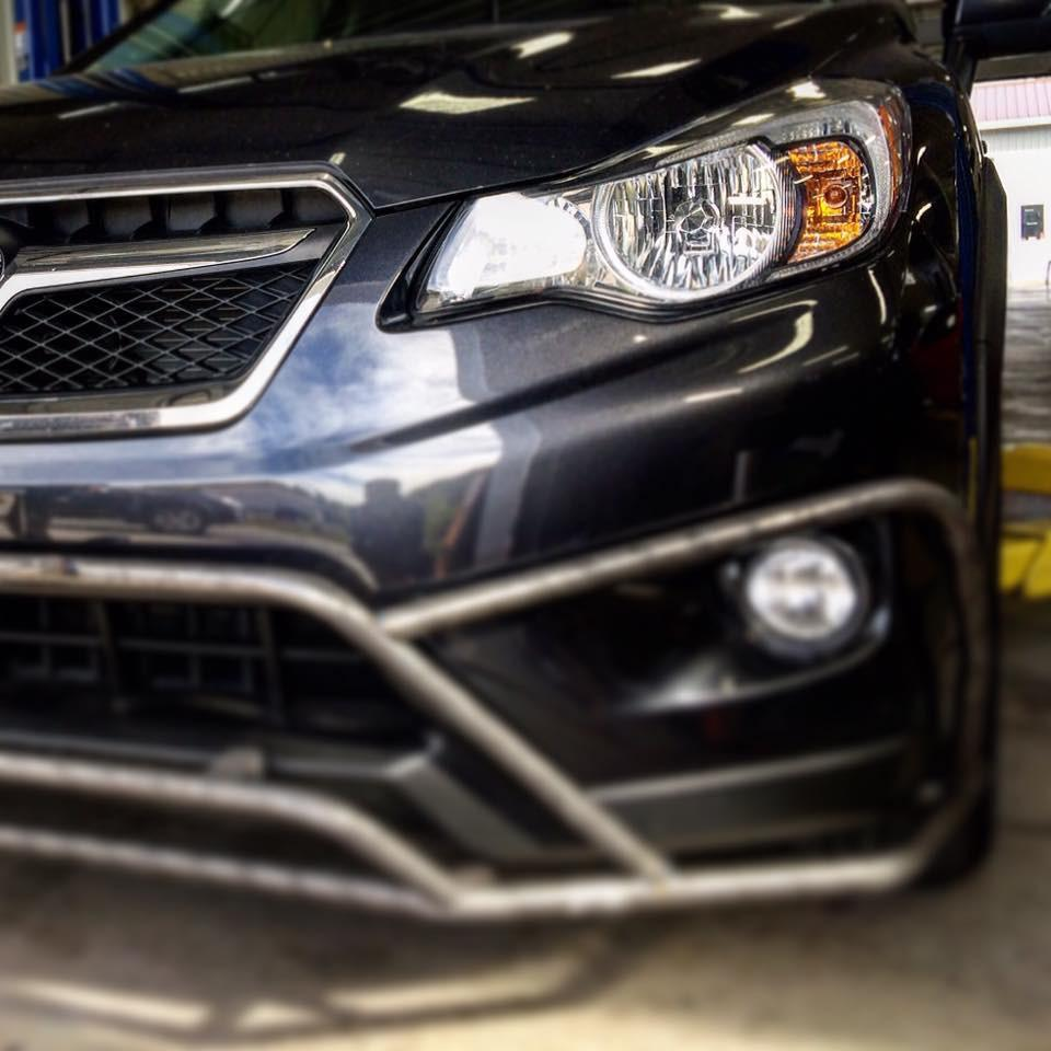 LP Aventure bumper guard for the Subaru XV Crosstrek will be available soon