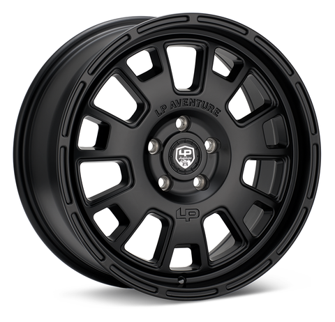 LP Aventure wheels - LP7- 17x8 ET20 5x114.3 - Black