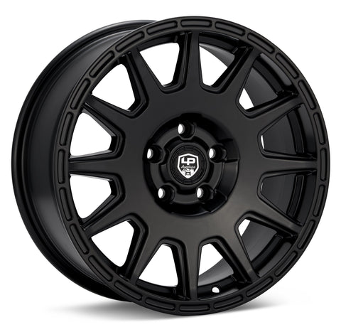 LP Aventure wheels - LP1 - 17x7.5 ET35 5x100 - Black