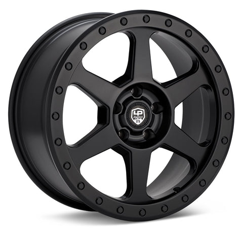 LP Aventure wheels - LP3 - 17x8 ET38 5x114.3- Matte Black