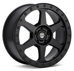 LP Aventure wheels - LP3 - 17x8 ET38 5x100 - Matte Black