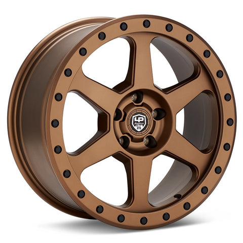 LP Aventure wheels - LP3 - 17x8 ET20 5x114.3 - Bronze