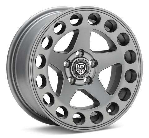 LP Aventure wheels - LP5 - 15x7 ET15 5x100 - Matte Grey