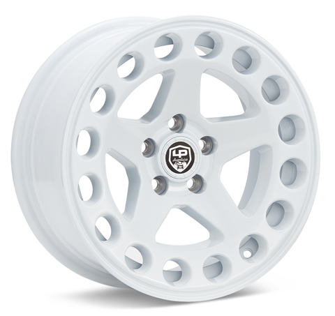 LP Aventure wheels - LP5 - 15x7 ET15 5x100 - White