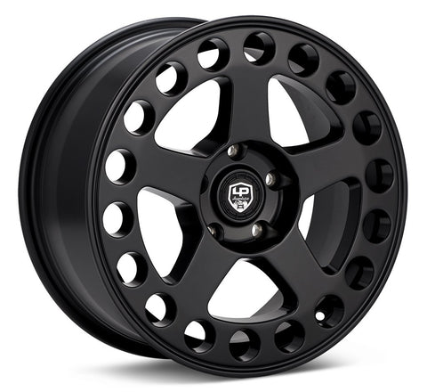LP Aventure wheels - LP5 - 17x8 ET38 5x114 - Matte Black