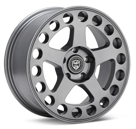 LP Aventure wheels - LP5 - 17x8 ET38 5x100 - Matte Grey