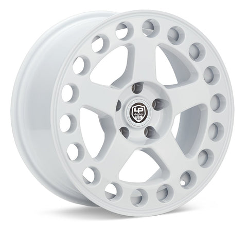 LP Aventure wheels - LP5 - 17x8 ET20 5x114.3 - White