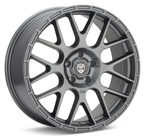 LP Aventure wheels - LP6 - 19x8 ET38 5x100 - Light Grey