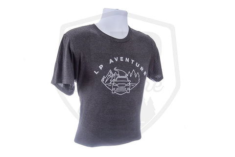 T-Shirt LP Aventure - Dark grey