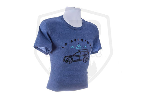 T-Shirt LP Aventure - Forester - Blue