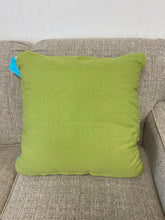 Load image into Gallery viewer, Green Macrame' Pillow