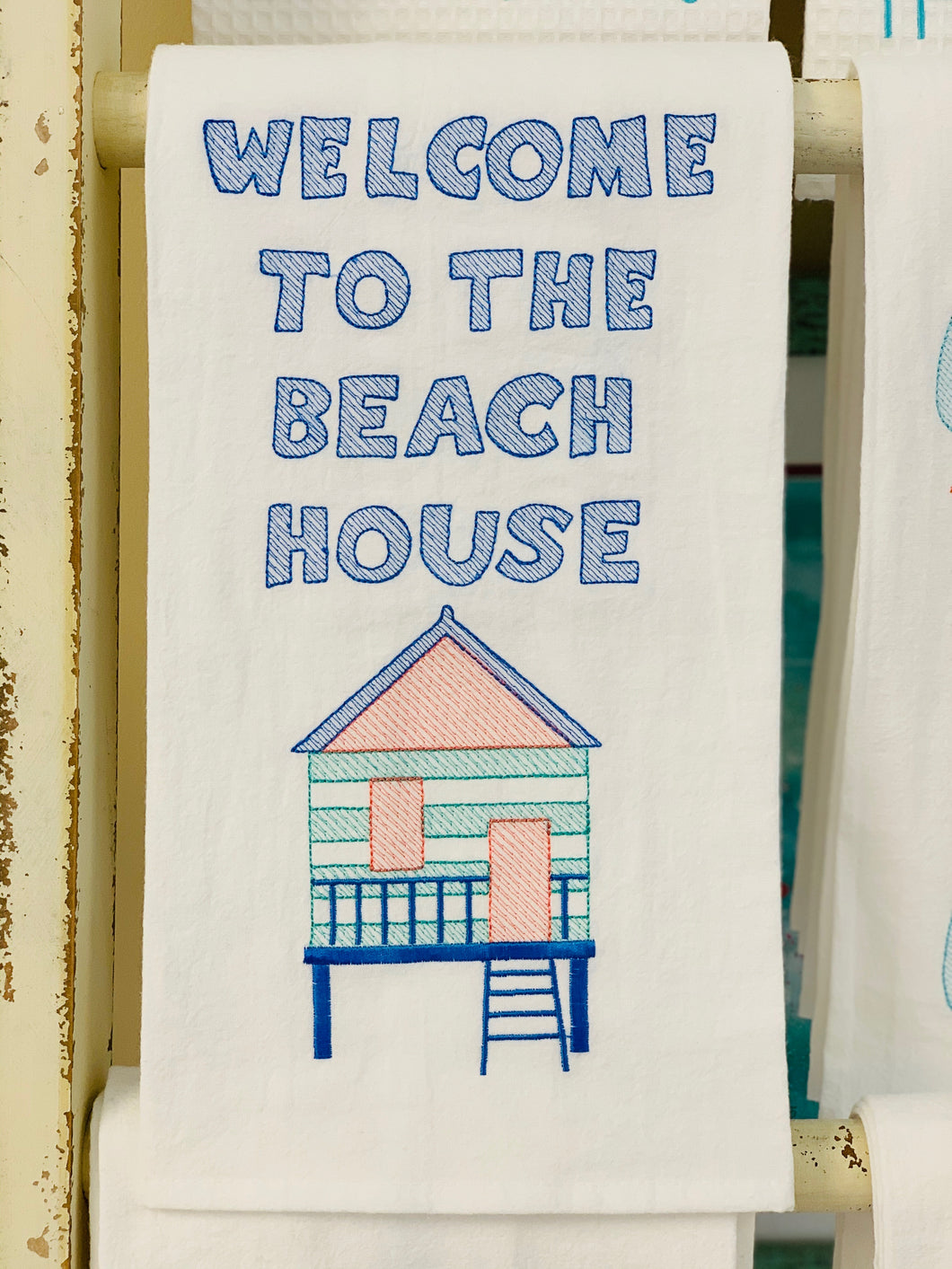 Welcome to the Beach House Hand Towel