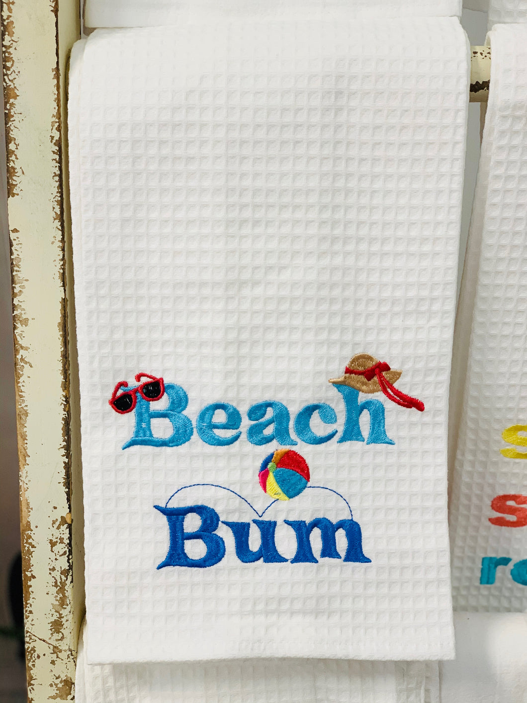 Beach Bum Hand Towel