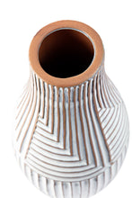 Load image into Gallery viewer, White Terracotta Vase