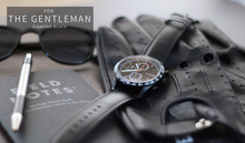 Load image into Gallery viewer, Diamond Black Racer Chronograph