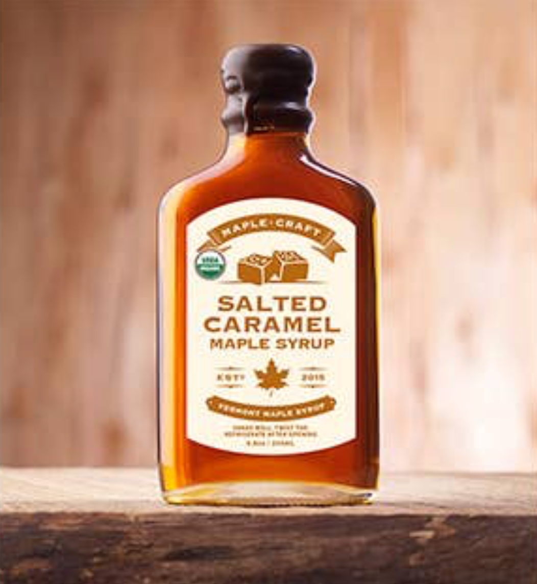 Organic Salted Caramel Maple Craft