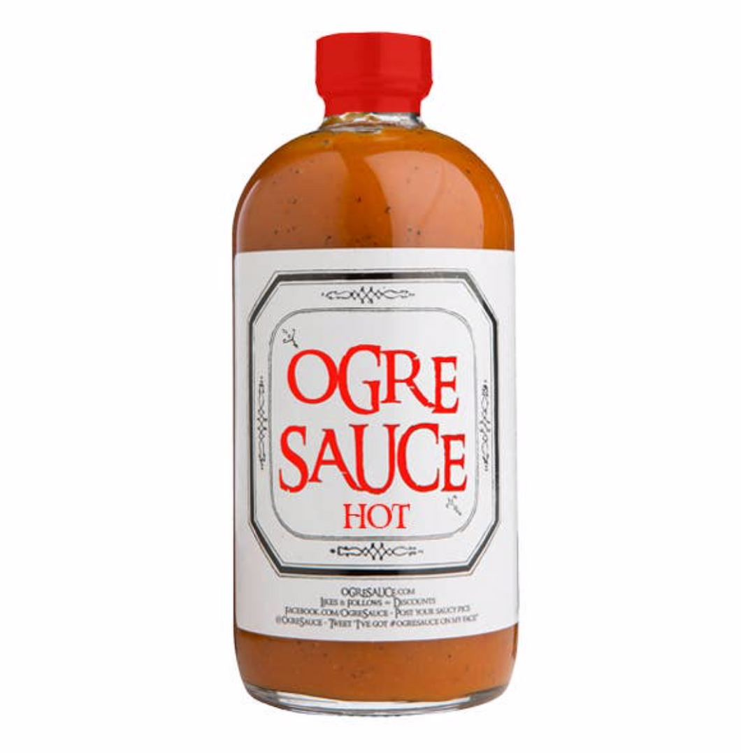 Ogre Sauce HOT - All Natural Craft BBQ Sauce
