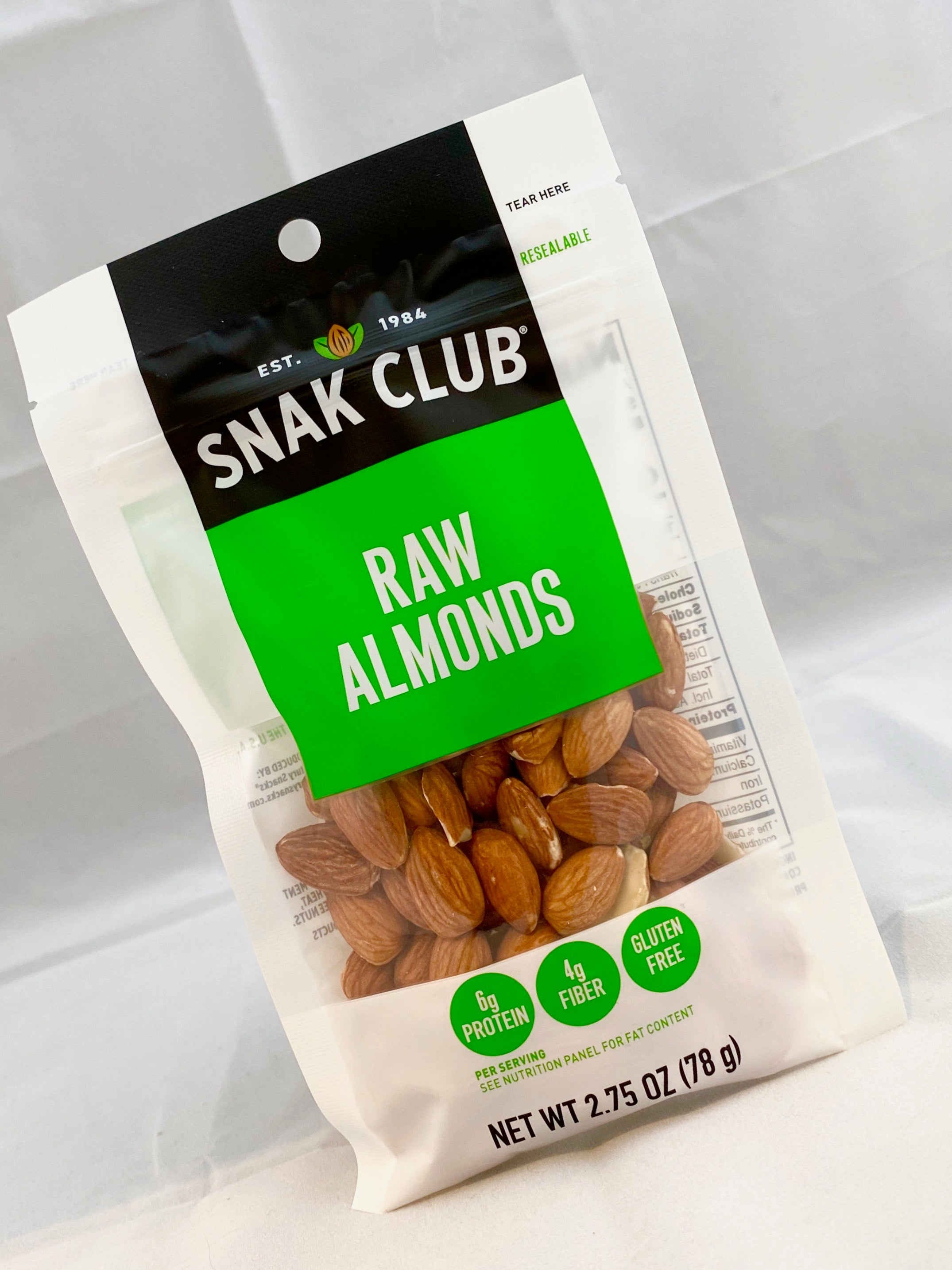 Snak Club Raw Almonds