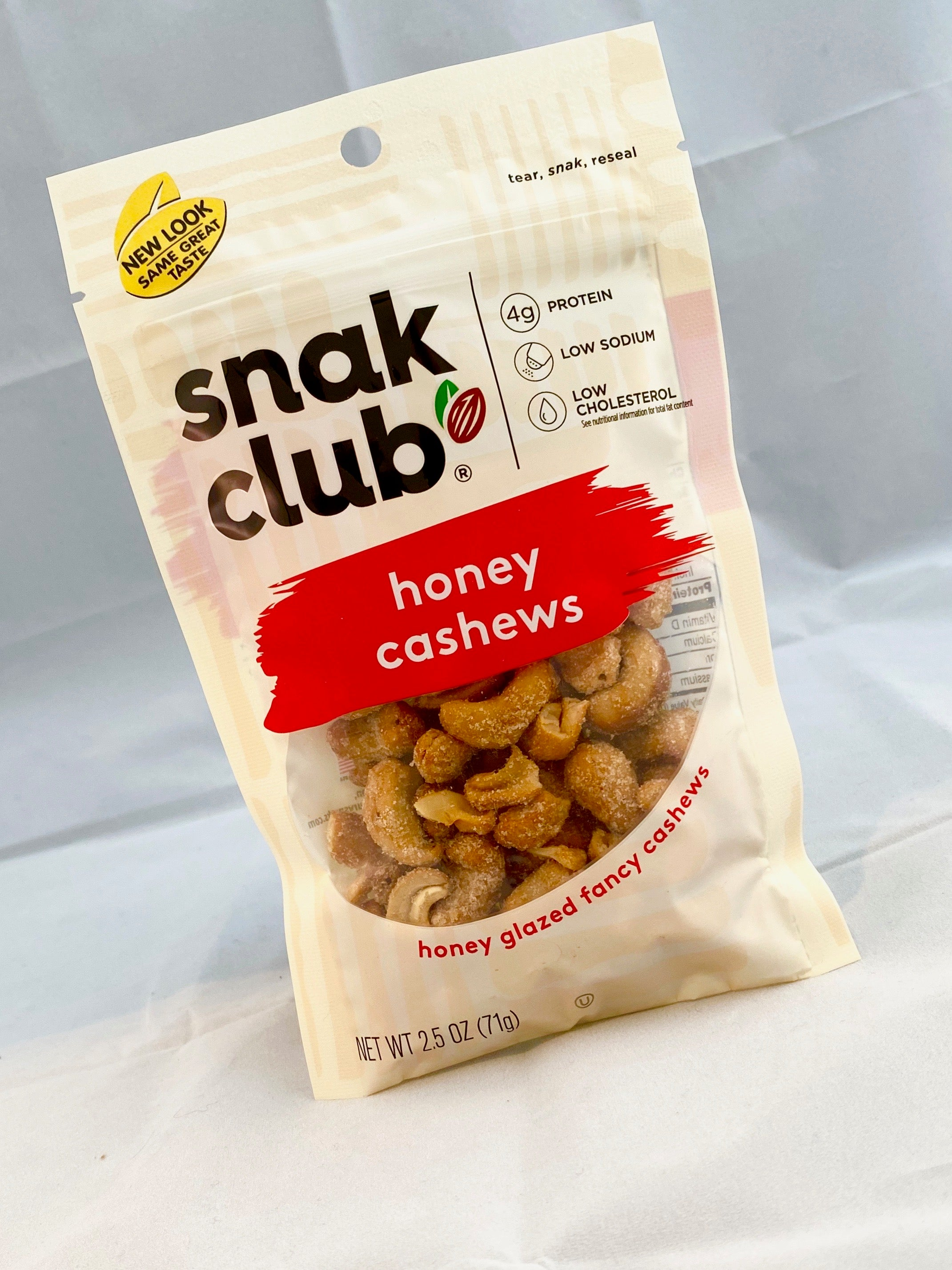 Box of Snak Pack Honey Cashews
