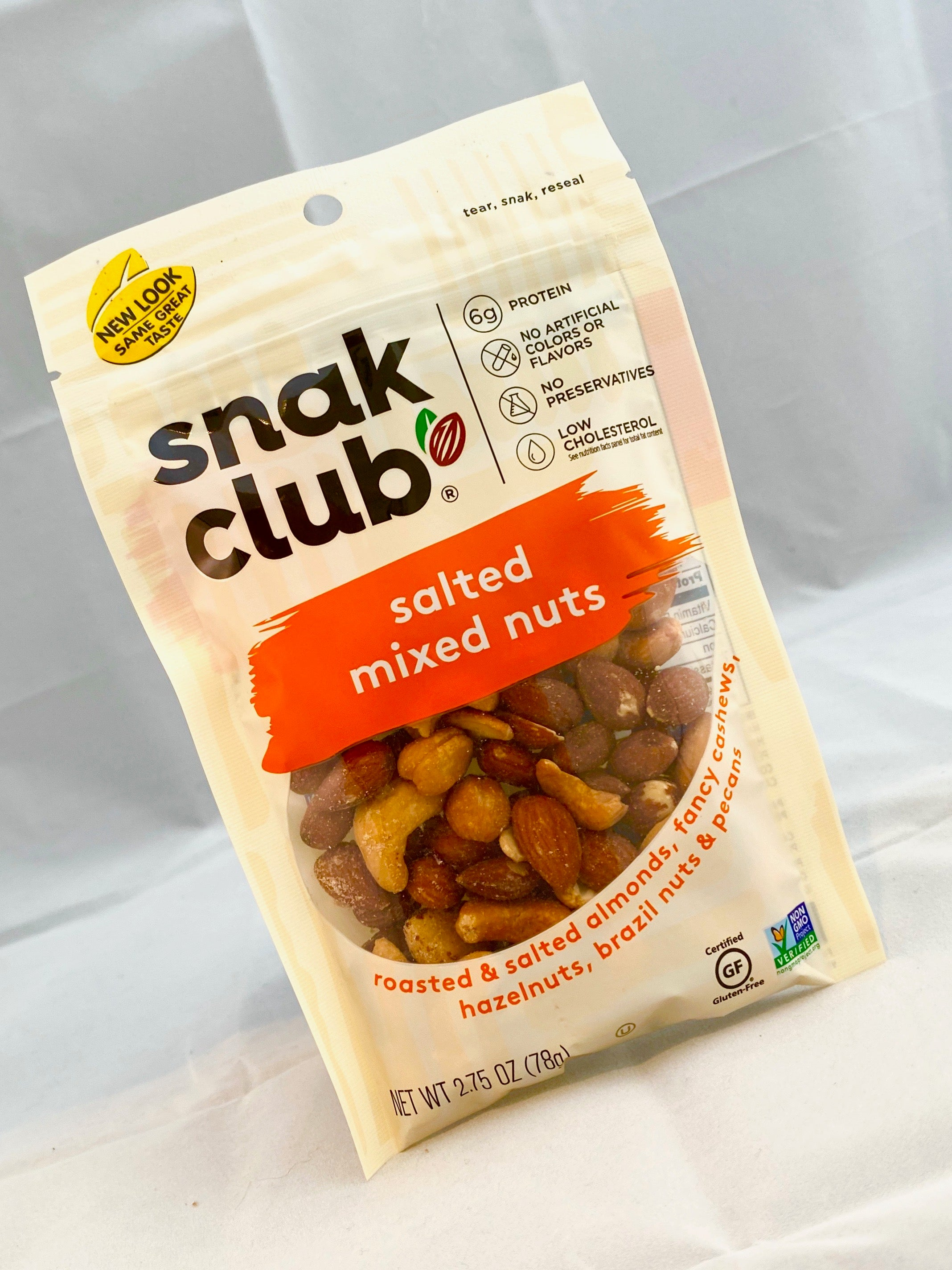 Snak Club Salted Mixed Nuts