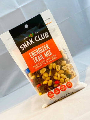 Box of Snak Club Energizer Trail Mix