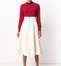 Fendi Paneled High Waist Skirt