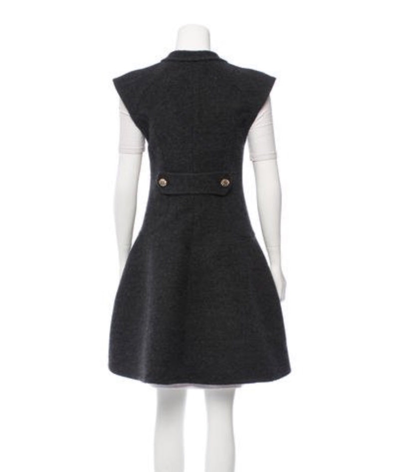 Chanel Structured Wool Vest