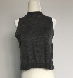 Prada Open Back Crop Top
