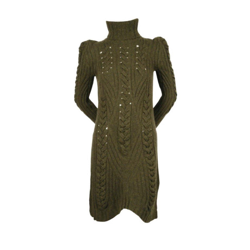 Céline 2010 Cable Knit Sweater Dress