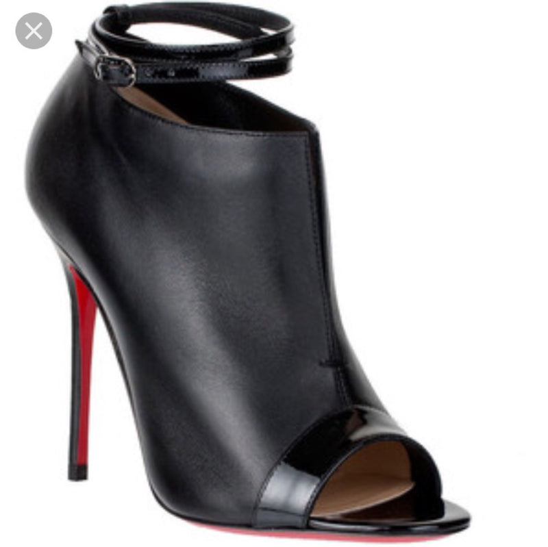 Christian Louboutin Diptic 100 Ankle Booties
