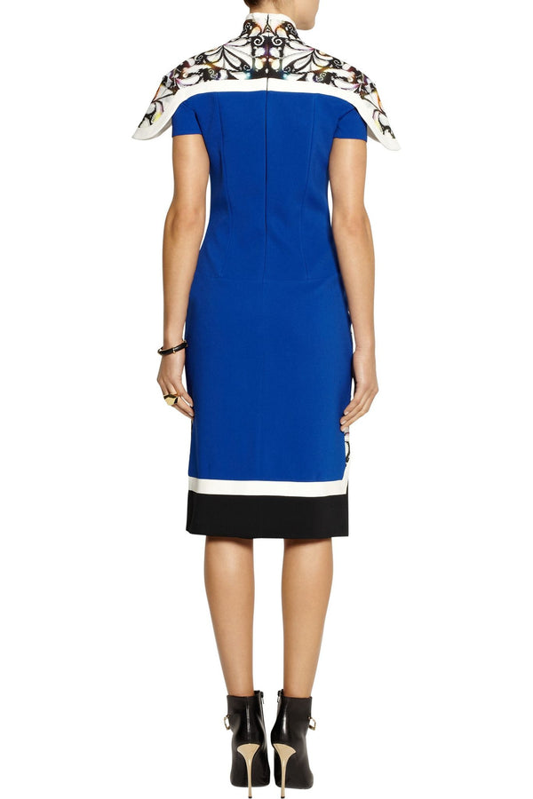 Peter Pilotto Farah Crepe Panel Dress