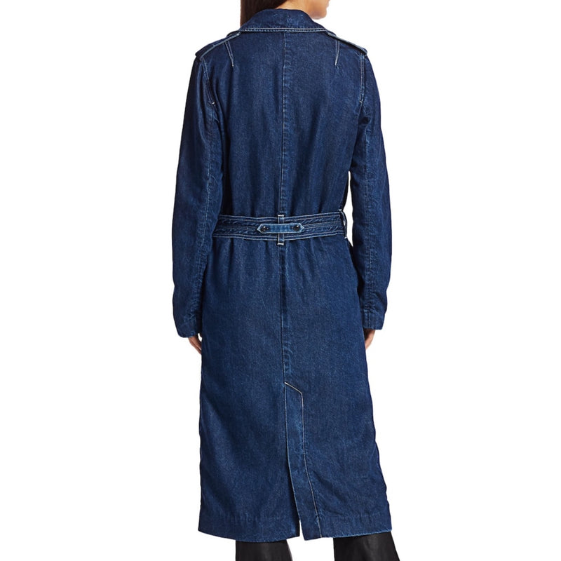 Rag & Bone Tailored Denim Trench Coat