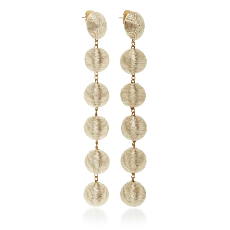 Rebecca de Ravenel Skinny Six Drop Skinny Earrings