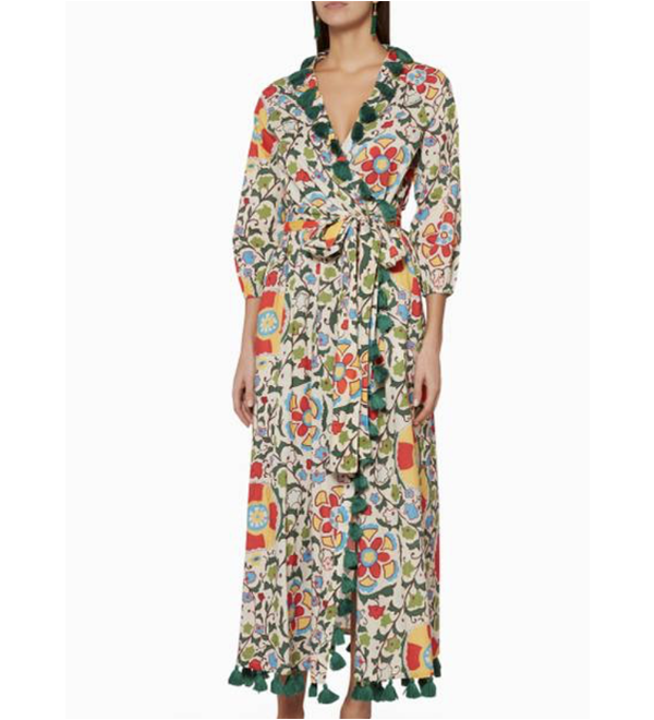 Rhode Resort Devi Floral Robe